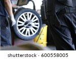selective focus of mechanics... | Shutterstock . vector #600558005