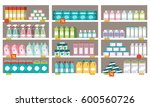 household products  detergents... | Shutterstock .eps vector #600560726