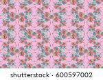 abstract elegance seamless... | Shutterstock . vector #600597002