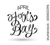april fool's day vector... | Shutterstock .eps vector #600602396