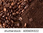 Coffee Beans And Grounds From...