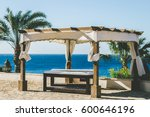 relaxation area. massage on the ... | Shutterstock . vector #600646196