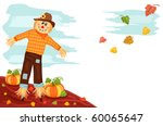 Autumn Harvesting With Cute...