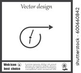 vector time icon.