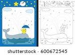 preschool worksheet for... | Shutterstock .eps vector #600672545