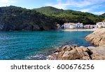 sa tuna  begur  girona ... | Shutterstock . vector #600676256