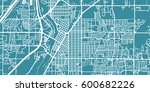 detailed vector map of idaho... | Shutterstock .eps vector #600682226