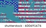 detailed vector map of san... | Shutterstock .eps vector #600691676
