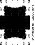 grunge black and white urban... | Shutterstock .eps vector #600704546