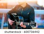 Boy Electric Guitar Playing Fo...