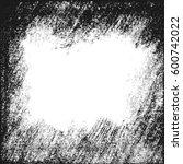 vector charcoal frame. card ...   Shutterstock .eps vector #600742022