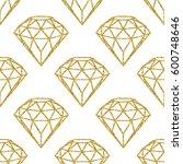 seamless pattern of geometric...   Shutterstock .eps vector #600748646