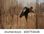 man exercising by the river | Shutterstock . vector #600753638