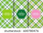 pink green tartan seamless...