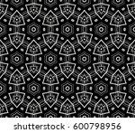 ornamental seamless pattern.... | Shutterstock .eps vector #600798956
