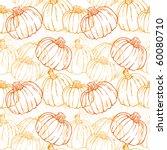 Pumpkin Background Seamless...