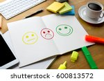 business man select happy on... | Shutterstock . vector #600813572