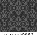 abstract repeat backdrop.... | Shutterstock .eps vector #600813722