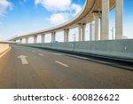 empty road surface floor with...   Shutterstock . vector #600826622