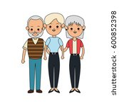 people or family members icon... | Shutterstock .eps vector #600852398