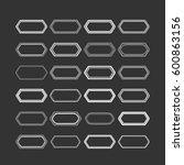 set of elements for design  ... | Shutterstock .eps vector #600863156