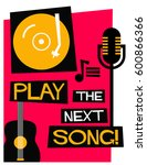 retro play the next song poster ...