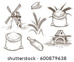 hand drawn vector illustration... | Shutterstock .eps vector #600879638