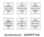 vector labels  badges or... | Shutterstock .eps vector #600895766
