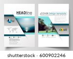 business templates for brochure ... | Shutterstock .eps vector #600902246