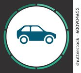 car icon vector. flat simple... | Shutterstock .eps vector #600904652