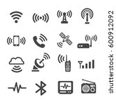 signal icon   Shutterstock .eps vector #600912092