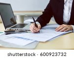 image of business person... | Shutterstock . vector #600923732