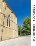 arezzo medieval buildings ... | Shutterstock . vector #600925832