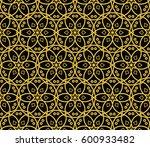 geometric shape abstract vector ... | Shutterstock .eps vector #600933482