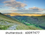 View From Birkhouse Moor Down...