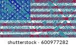 detailed vector map of san jose ... | Shutterstock .eps vector #600977282