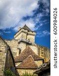castelnaud la chapelle  france  ... | Shutterstock . vector #600984026