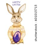 Easter Bunny With Title