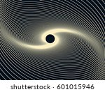 linear black hole waves... | Shutterstock .eps vector #601015946