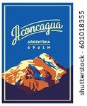 Aconcagua In Andes  Argentina...