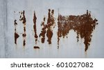 the grunge metal for background.... | Shutterstock . vector #601027082