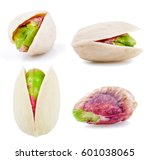 pistachios at different angles... | Shutterstock . vector #601038065