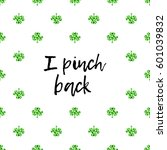 saint patrick's day greeting... | Shutterstock .eps vector #601039832