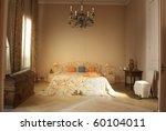 classic bedroom | Shutterstock . vector #60104011