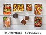 eating right concept. diet...   Shutterstock . vector #601066232