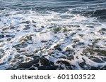 ocean wave foam | Shutterstock . vector #601103522