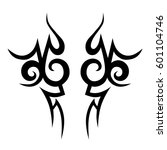 tattoo tribal vector designs... | Shutterstock .eps vector #601104746