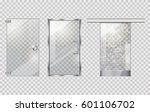 glass door collection on...