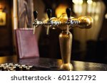 beer tap at the bar | Shutterstock . vector #601127792