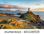sunset at ynys llanddwyn island ...